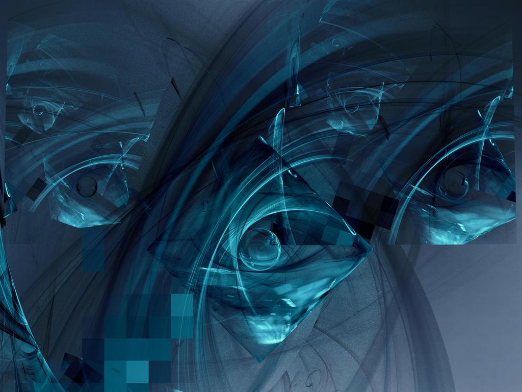 See Through Baby Blue by j5rson