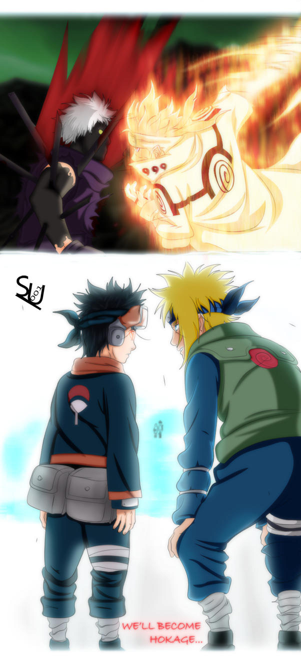 We'll Become Hokage.. Right Obito? by Kira015