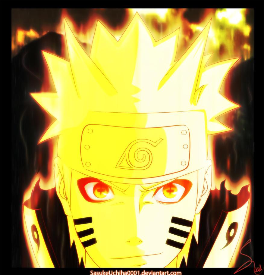 Naruto Sennin Bijuu Mode by Kira015 on DeviantArt