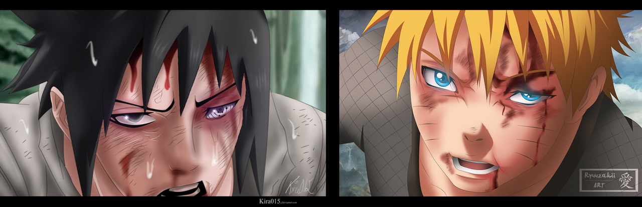 Naruto Ch 697 Collab with Xryuuzakii by Kira015
