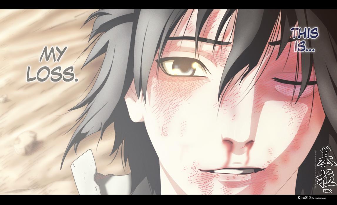Naruto Ch 698 - Sasuke - Its My Loss by Kira015