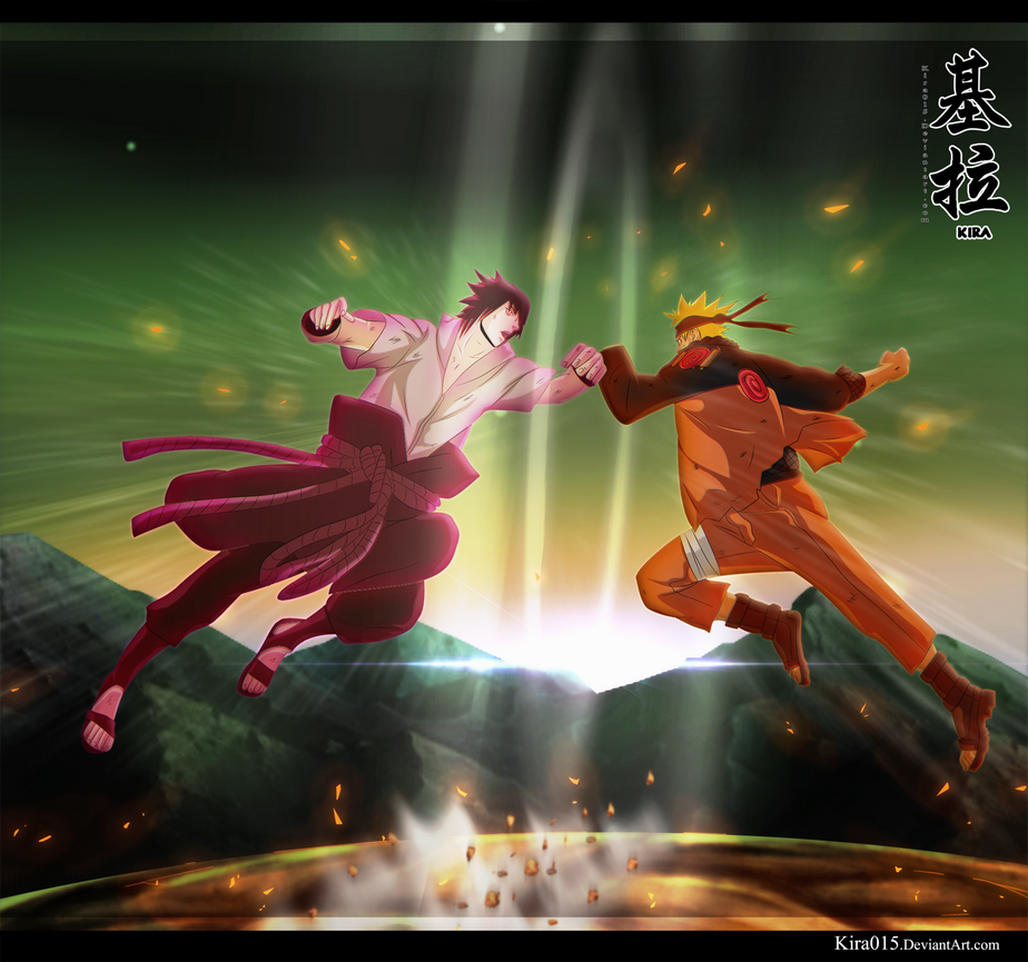 Naruto Ch 694 - Confrontation by Kira015
