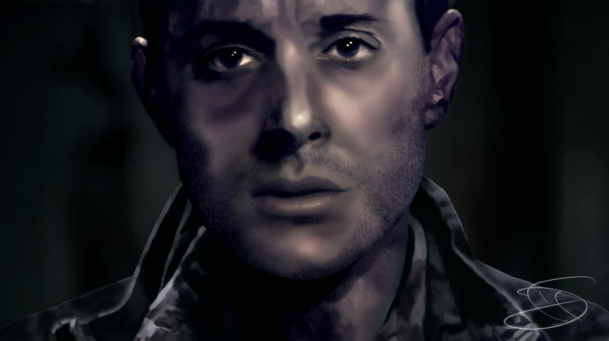 Supernatural - Dean Winchester Digital Paint by Kira015