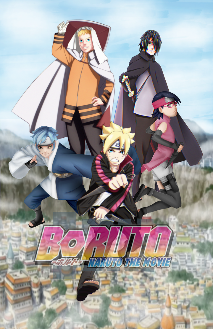 Boruto The Movie Collab by Kira015