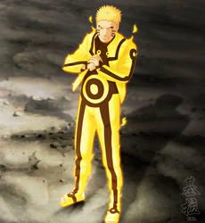 Naruto - Bijuu Mode Adult by Kira015