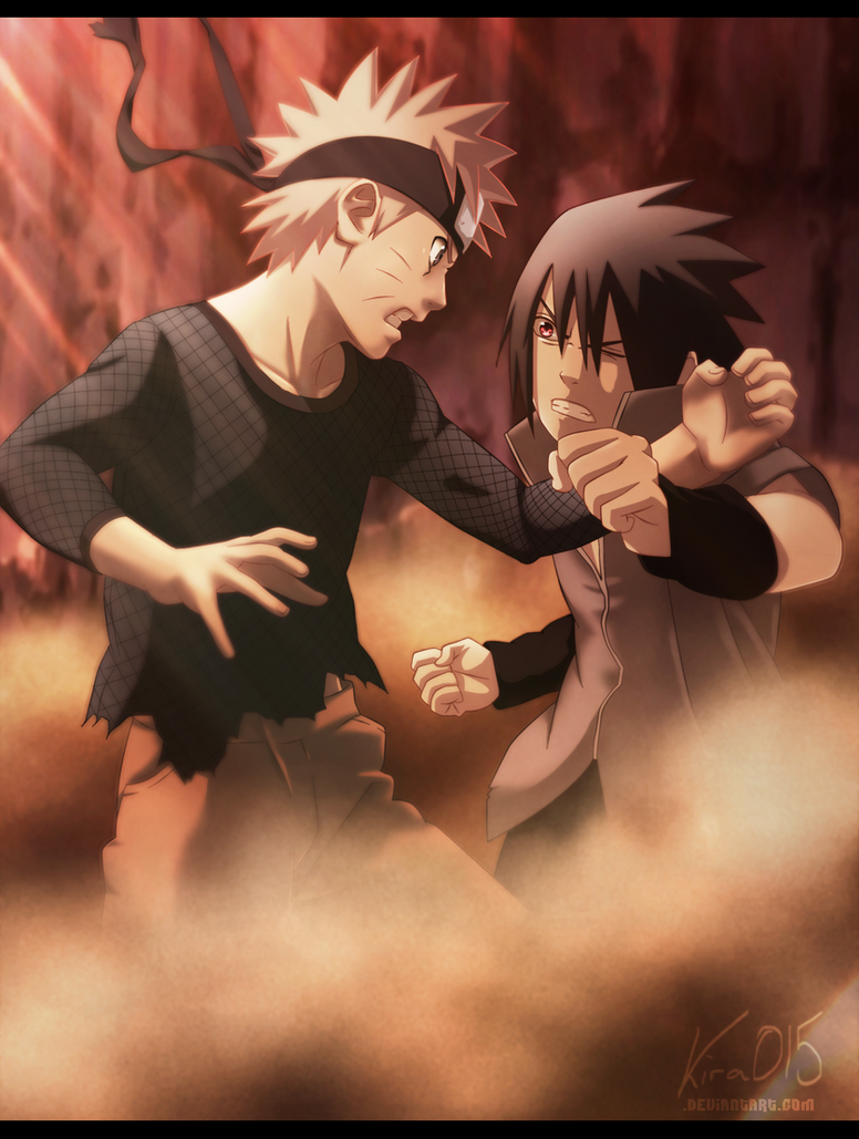 Naruto Vs Sasuke - Final Bout by Kira015
