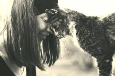 Cat Girl by Lea-Woelfchen