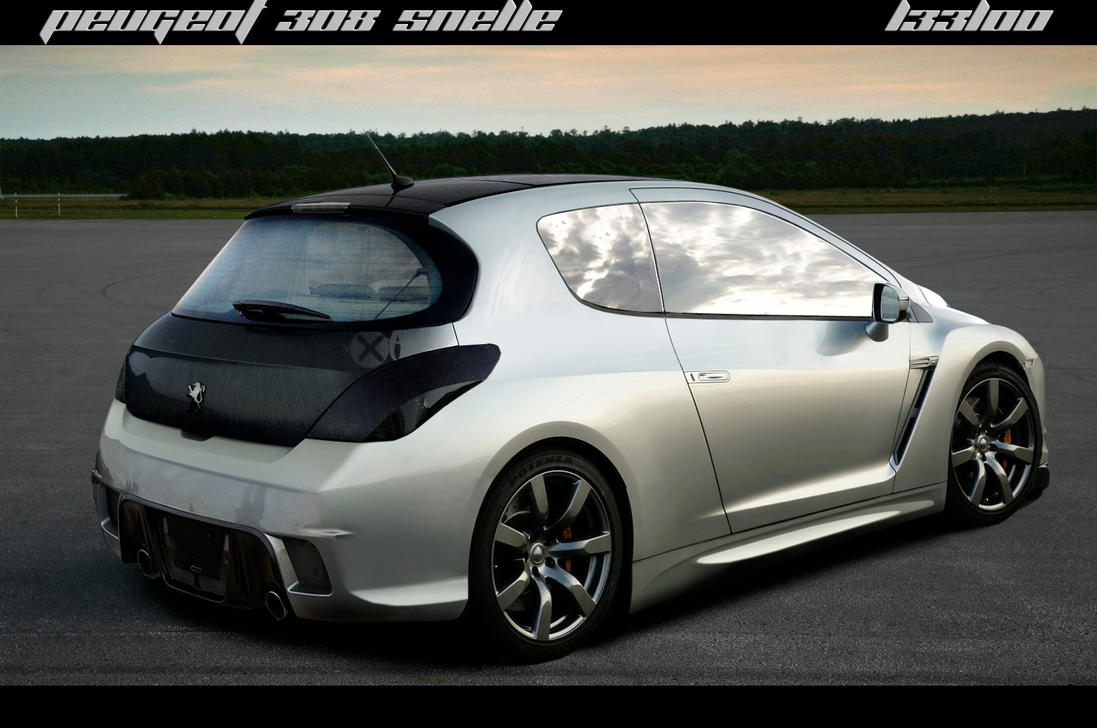 Peugeot 308 Snelle Rear Vers By Leel00 On Deviantart