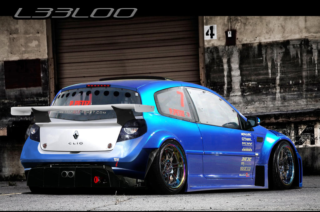 sick bullet renault clio by leel00 on deviantart. Black Bedroom Furniture Sets. Home Design Ideas
