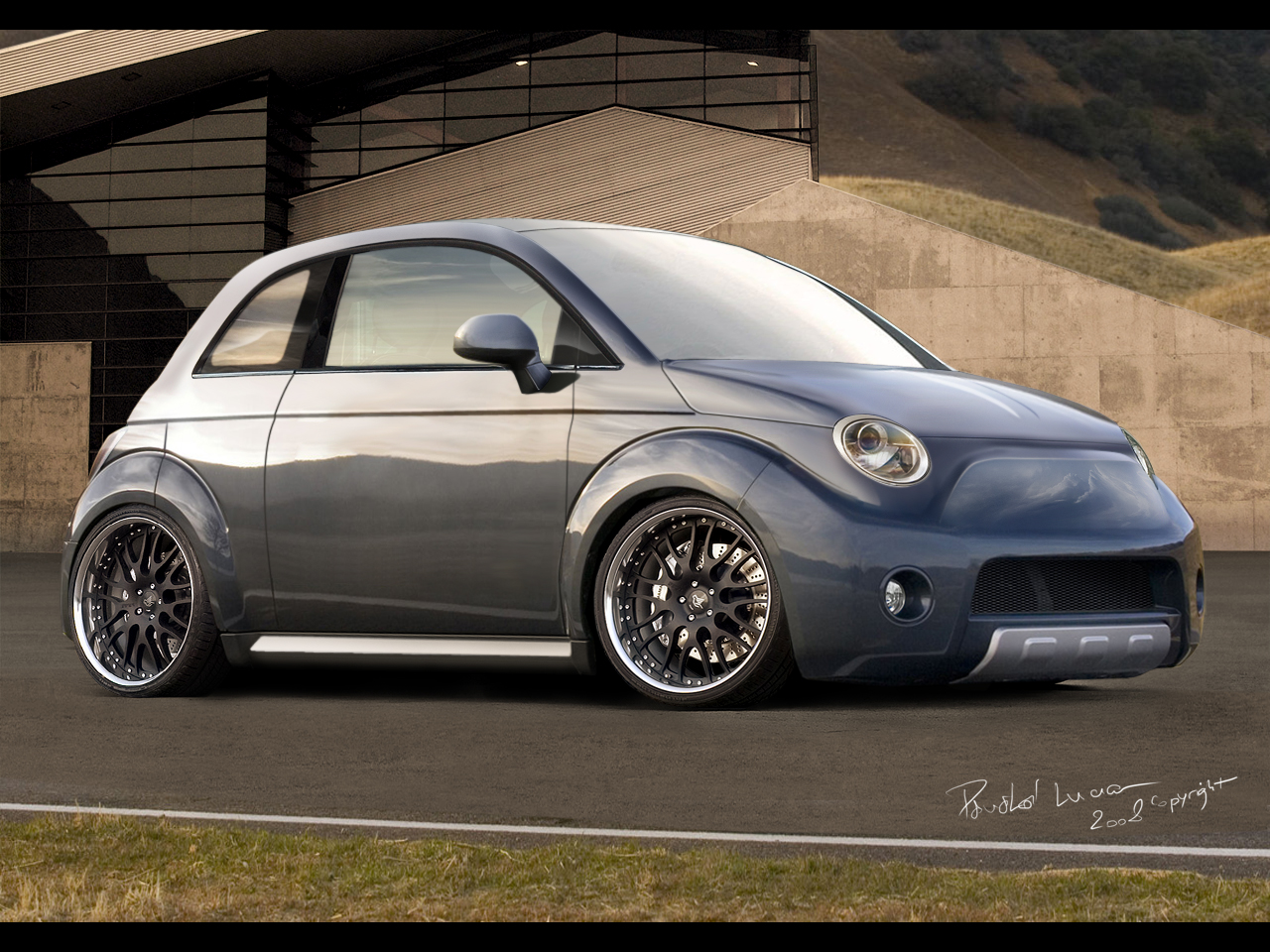 Fiat 500 Tuning Parts Images