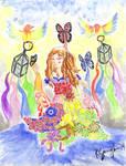Goddess by kentsunglao