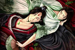 Luo Binghe and Shen Qingqui from svsss by Mentare