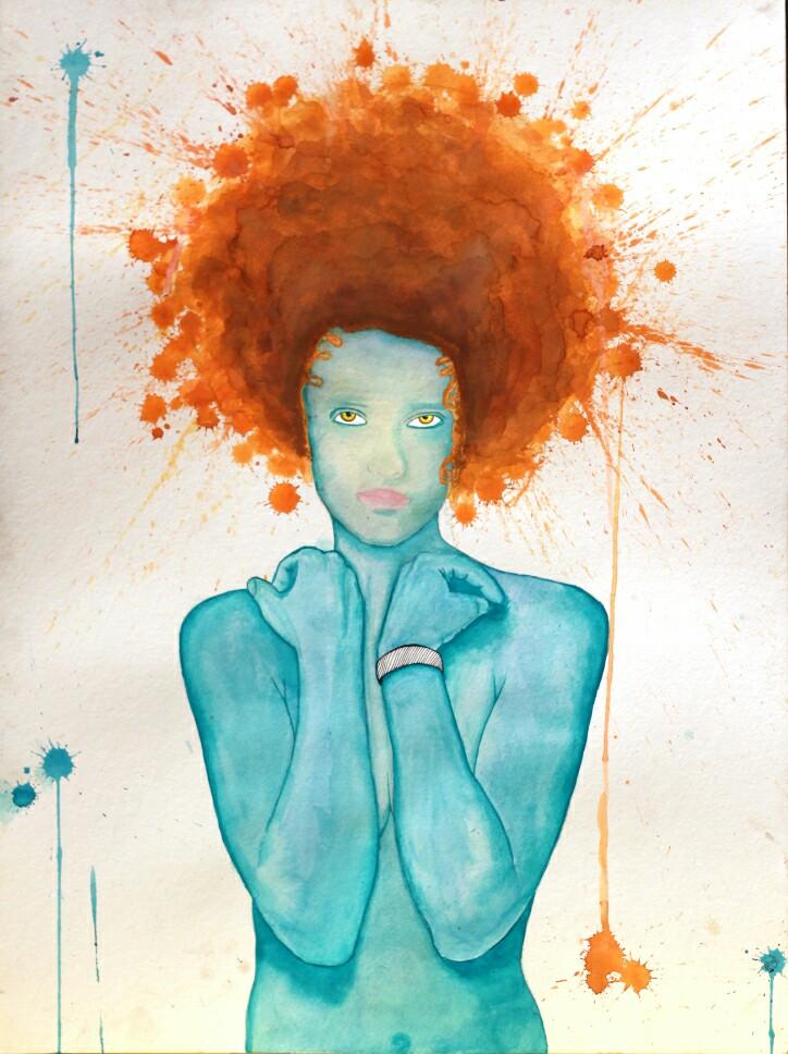 lady blue by tasiaraye