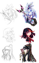 Sketches by Andgofortheroll-123