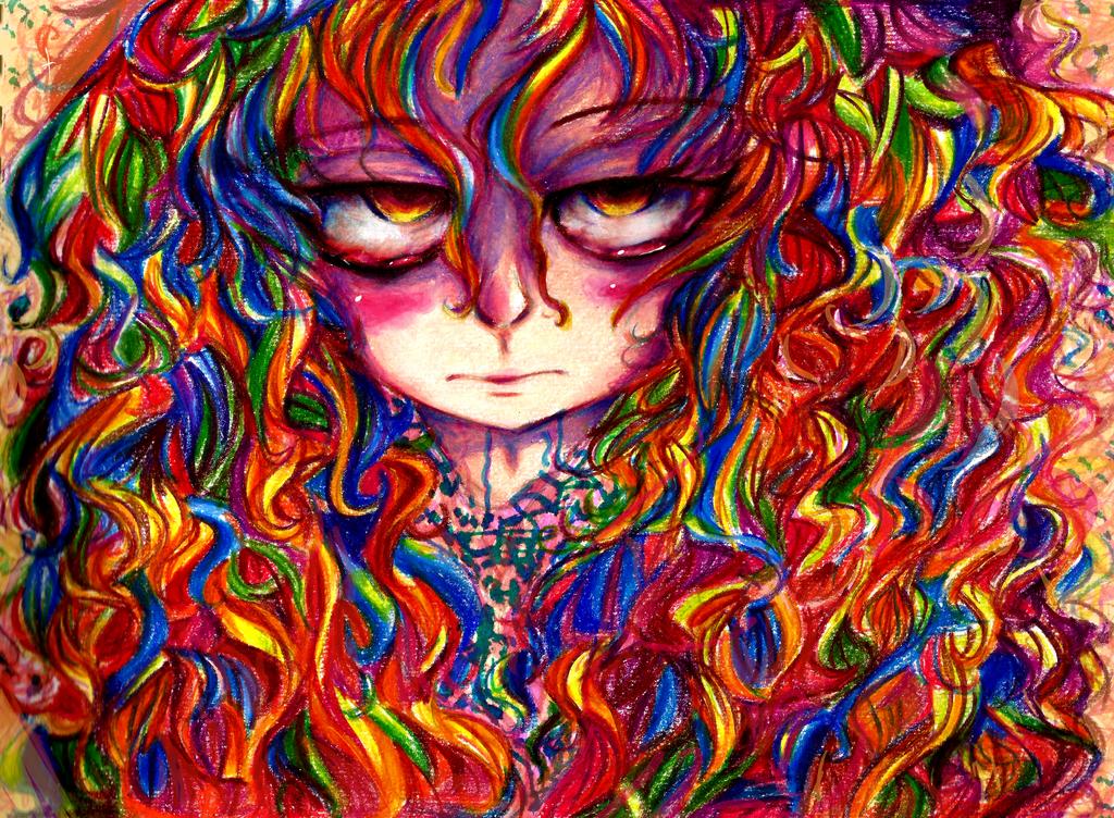 Rainbow Girl by Andgofortheroll-123