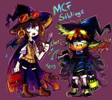 Halloween Mcf by Andgofortheroll-123