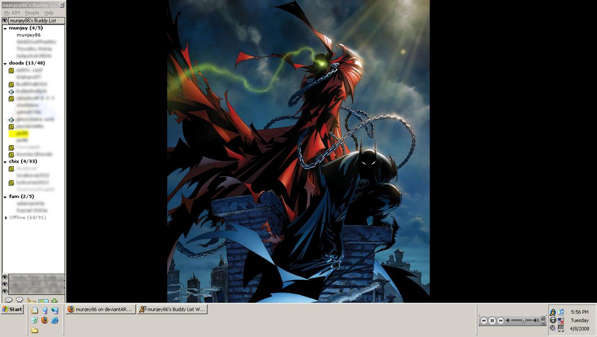 Batman Spawn Desktop Wallpaper By Munjey86