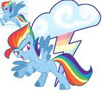 Rainbow Dash G5 by Lilith1Light