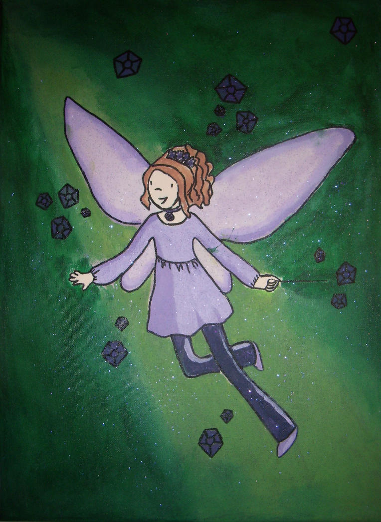 Amy the Amethyst Fairy by MinervaEmiprav