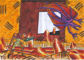 Metroid - Ridley by KiHunter