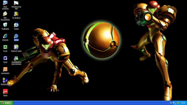 Desktop Screenshot - Samus by KiHunter