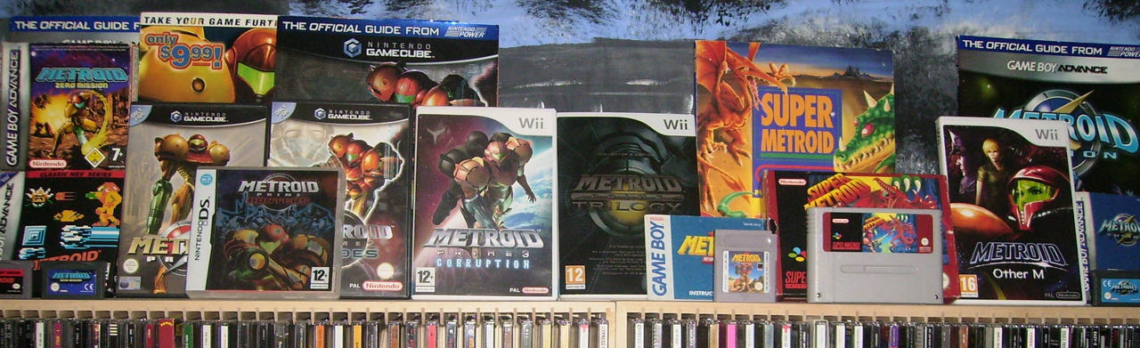 Metroid Collection 2010 by KiHunter