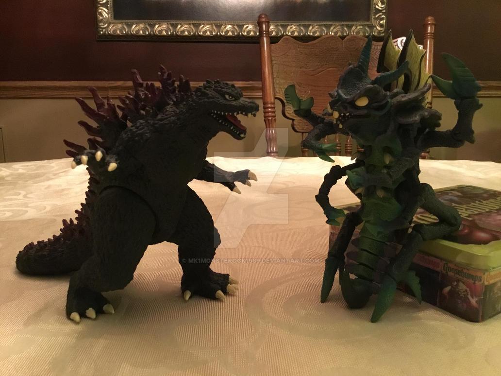 Godzilla vs The ExtraTERRORestrial Alien! (WDW) by MK1MonsterOck1989