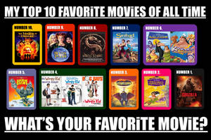 My Top 10 Favorite Movies of All Time