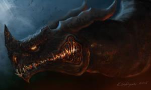 Black Dragon by gielczynski