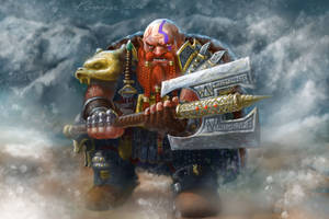 Battle Dwarf by gielczynski
