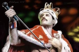 Freddie Mercury by gielczynski