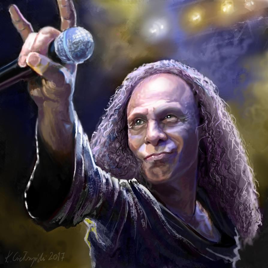 Ronnie James Dio by gielczynski