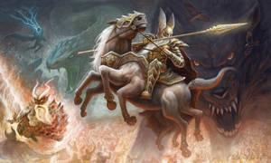 Ragnarok by gielczynski