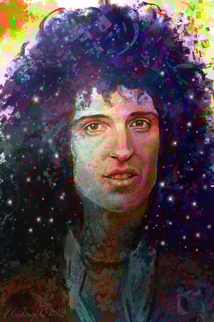 Brian May by gielczynski