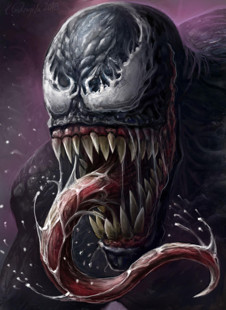 Venom's wrath by gielczynski