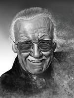 Stan Lee by gielczynski