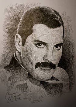 Another Freddie Mercury Drawing