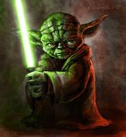 Master Yoda by gielczynski