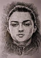 Arya Stark by gielczynski