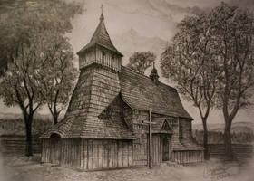 St. Michael Archangel's Church by gielczynski