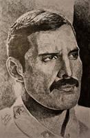 Freddie Mercury (Born to love You) by gielczynski