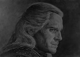The Witcher (pencils) by gielczynski