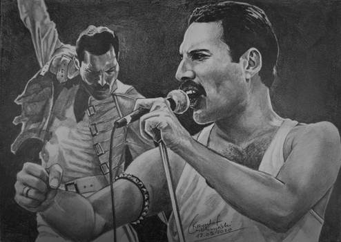 Freddie Mercury (double)