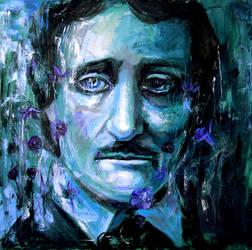 Edgar Allan Poe by dustfae