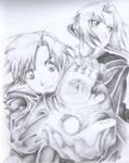 Edward y Alphonse elric - Full metal Alchemist
