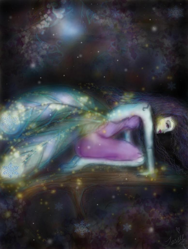 'Winter Moon Fairy' by tessieart333