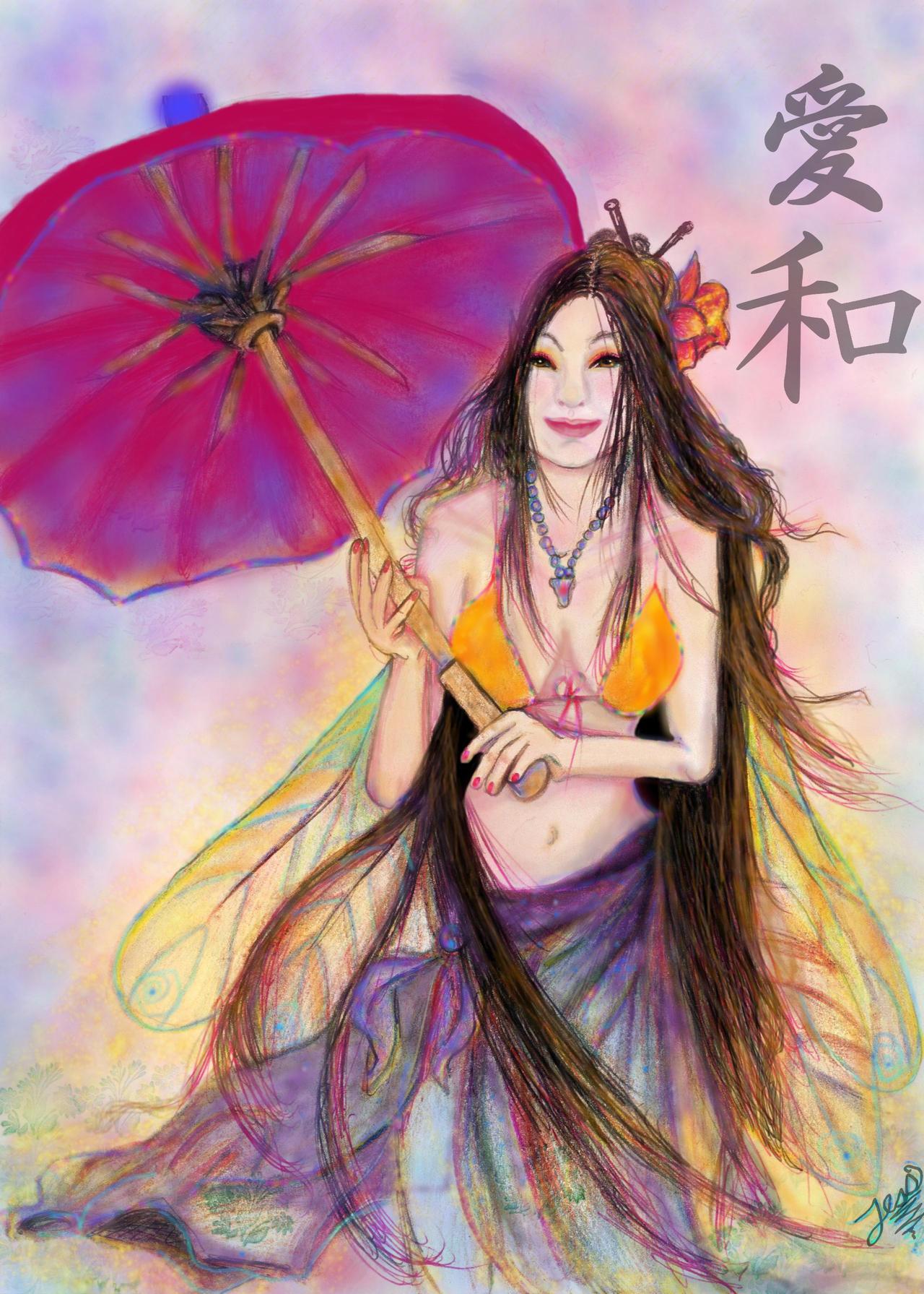 Love Peace Fairy by tessieart333