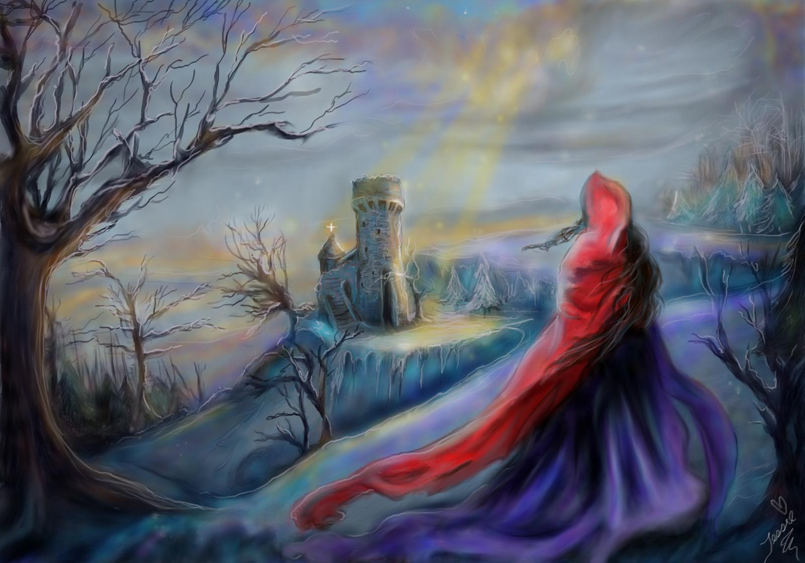 Winter's Refuge-Tessie by tessieart333
