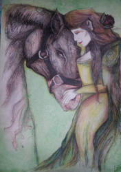 The Dark Horse  the Elf Princess