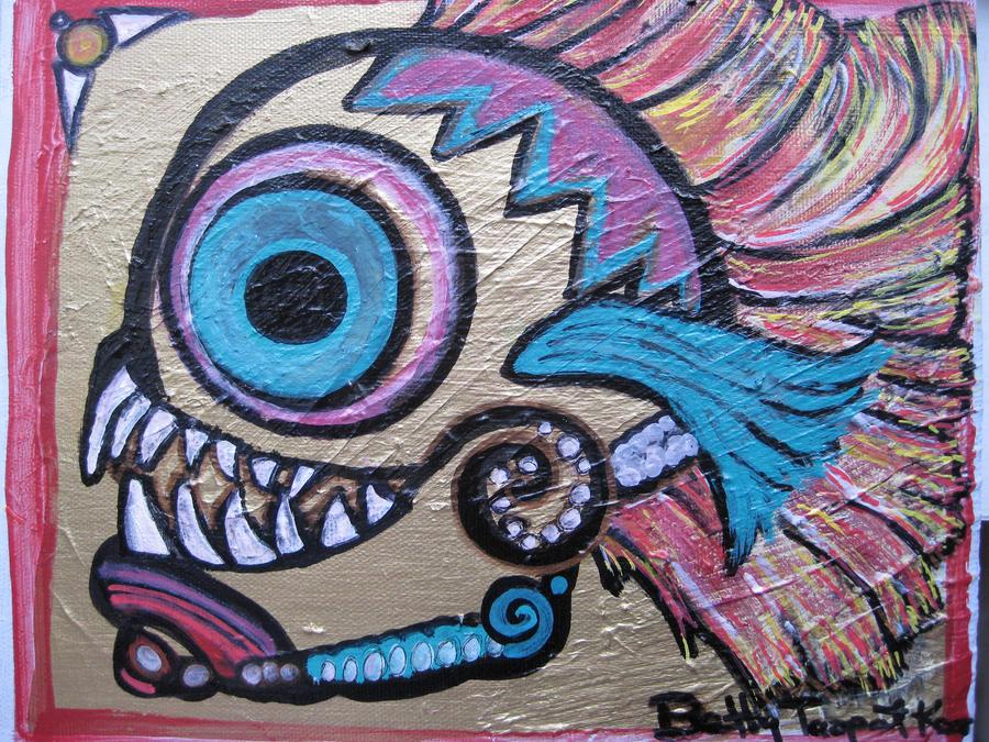 Ritual skull 2008 by beatrixxx